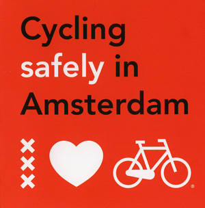 Cycling safely in Amsterdam brochure